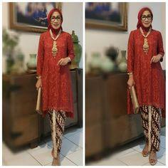 23 Ideas for dress modest formal beautiful Kebaya Modern Hijab, Kebaya Hijab, Kebaya Brokat, Kebaya Muslim, Kebaya Lace, Kebaya Dress, Batik Kebaya, Trendy Dresses, Modest Dresses