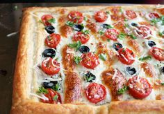 Day 13: 21 Day Detox with a Easy Tomato and Olive Tart