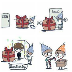 Happy Birthday Chen