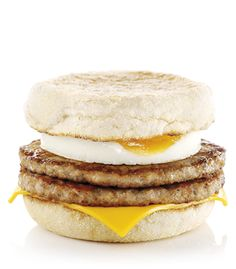 Double Sausage & Egg McMuffin :: Irland