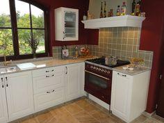 1000 images about keuken definitief on pinterest ramen entrance and search - Keuken met rode baksteen ...
