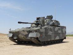 CV90 in swedish splinter camo pattern and the heaviest version, mkIII,