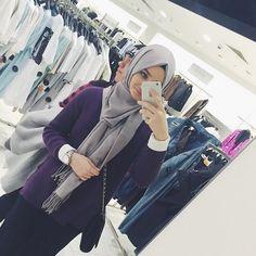 Modest Outfits, Modest Fashion, Hijab Fashion, Muslim Women Fashion, Islamic Fashion, Girl Hijab, Hijab Outfit, Alexandra Golovkova, Beautiful Hijab Girl