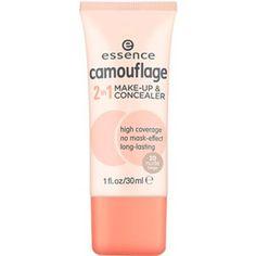 camouflage make-up & concealer 10 ivory beige - essence cosmetics Essence Makeup, Essence Cosmetics, Nars Cosmetics, Make Up Concealer, Best Concealer, Camouflage Makeup, Foundation For Pale Skin, Face Facial, Makeup Revolution