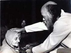Osho and his mother