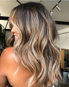 Balayage Hair Brunette With Blonde, Brown Hair Balayage, Brown Blonde Hair, Brown Hair With Highlights, Sunkissed Hair Brunette, Blonde Asian Hair, Light Brunette Hair, Asian Balayage, Long Brunette