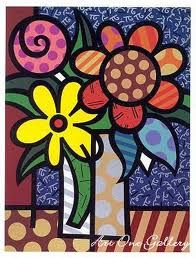 Indigo Blue: Romero Britto - Inspiration