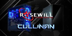 Rosewills next gaming computer case: Cullinan  The Uncut Diamond   Rosewill has spent the last 10 years making a name for itself in the PC community with no signs of slowing down. And with their latest PC gaming tower the Cullinan not only is it hard to pronounce but its geared to handle your most extreme gaming rig setup you can think of.  Theres a lot of thought put into the Cullinan that goes beyond just holding your PC innards while looking pretty. Thefront and sides are made up of 5mm…