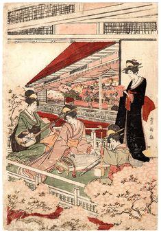 Lotto 00764 N.1 xilografia ukiyo-e Utagawa Toyokuni FESTA DELLE BAMBOLE AI PIEDI DEL MONTE IMO Anno: 1801-04 ca. Condizioni: segni del tempo Dimensioni: 25,5 x 37 cm Woodblock Print, Japanese Art, Art Dolls, Vintage World Maps, Artwork, Prints, Party, Japan Art, Art Work