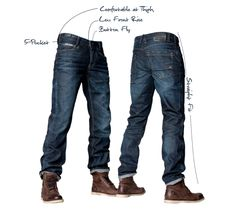 A pair of exeptionally good fitting jeans Summer Wardrobe, My Man, Fall Winter, Denim, My Style, Metal, Jeans, Board, How To Wear
