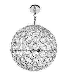 For the basement, above the game table.....   Crystal Sphere 3-Light Chandelier , 9.9-Inch (Chrome) by Lightaccents, http://www.amazon.com/dp/B008X5E1QI/ref=cm_sw_r_pi_dp_Df-Lrb1ST8WNP
