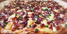 Gluténmentes juhtúrós kenyérlángos – Ceruzabab Hawaiian Pizza, Hot Dog, Vegetable Pizza, Paleo, Menu, Diet, Vegetables, Food, Glutenfree