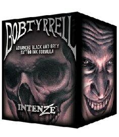 Bob Tyrrell  Black & Grey Ink Set http://www.worldwidetattoo.com/english/product/intenze-bob-tyrrell-black-grey-tattoo-ink