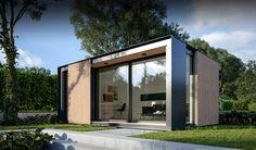 UK Garden Pods & Outdoor Office Building Designed By Pod Space Backyard Cabin, Backyard Studio, Garden Studio, Outdoor Office, Backyard Office, Garden Office, Outdoor Living, Prefab Office, Granny Pods