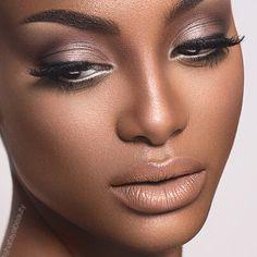 Gorgeous Makeup: Tips and Tricks With Eye Makeup and Eyeshadow – Makeup Design Ideas Dark Skin Makeup, Nude Makeup, Kiss Makeup, Flawless Makeup, Gorgeous Makeup, Natural Makeup, Hair Makeup, Makeup Trends, Makeup Tips