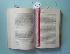 In this post, I'm sharing 13 free crochet bookmark patterns. If your hobbies are to read and crochet, you can combine them and make a crochet bookmark. free crochet rainbow and clouds bookmark Crochet Bookmark Pattern, Crochet Bookmarks, Crochet Books, Crochet Gifts, Crochet Eyes, Crochet Angels, Free Crochet, Crochet Designs, Crochet Patterns