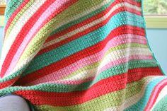 little woollie: Star Stich Blanket No.2 (stitch pattern: http://www.crochetspot.com/how-to-crochet-star-stitch/)