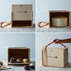 CakeBox - reusable cake and cupcake carrier | The Machine Shed Blog