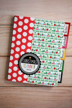 Make your own Christmas Planners using a composition notebook | Christmas Crafts and Printables