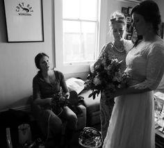 Cray Bay & bridal bouquet...x