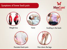 Symptoms of lower Back pain Visit: https://maxcurehospitals.com/ #MaxCureHospitals #MaxCure #BackPain #LowerBackpain #Stress #Weightloss #Fever #Selling #PersistentBackpain #Consutexperts #ConsultOurDoctors #Hyderabad