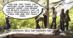 Alaskan Bush People - Bulding a stage for their show Billy Brown, Alaskan Bush People, Talent Show, Stage, The Past, Shit Happens