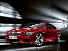 Fabulous BMW M6 in Red HD Wallpaper