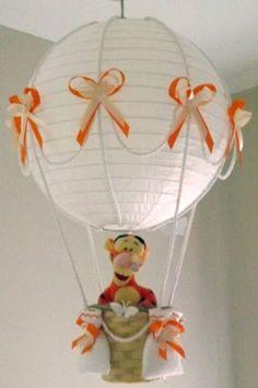 Hot Air Balloon Lamp/light shade with Disney Tigger   eBay
