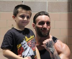 Chris masters and a little fan