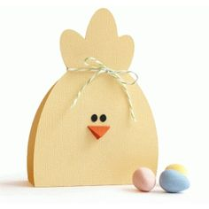 Silhouette Design Store: chick treat bag