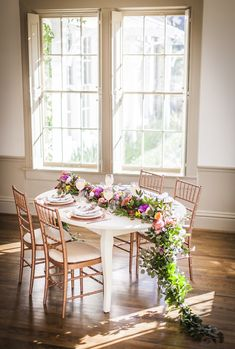 Guest table from a Secret Garden Baby Shower on Kara's Party Ideas | KarasPartyIdeas.com (33)