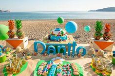 Fiesta Tropical en la Playa