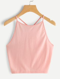 Crop Halter Top
