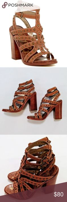 4d9341ca0 Sam Edelman  Keith  Studded Sandal - NWOT Polished cone studs play up the  edgy