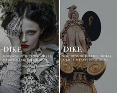 greek mythology → dike goddess of justice, moral order & fair judgement difference between nike and dike Greek And Roman Mythology, Greek Gods And Goddesses, Greek Goddess Mythology, Greek Mythology Quotes, Goddess Names, Fantasy Names, Greek Names, Aesthetic Words, Mystique