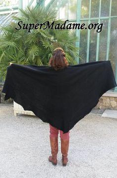 Châle facile tricot modele gratuit