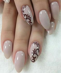 Nail art is a very popular trend these days and every woman you meet seems to have beautiful nails. It used to be that women would just go get a manicure or pedicure to get their nails trimmed and shaped with just a few coats of plain nail polish. Cute Nails, My Nails, Nagellack Design, Bridal Nail Art, Wedding Nails Design, Wedding Designs, Trendy Nail Art, Luxury Nails, Gel Nail Designs