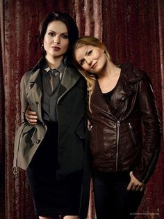 what an attractive couple Once Upon A Time, Otp, Regina And Emma, Mario, Swan Queen, Regina Mills, Jennifer Morrison, Perfect Couple, Emma Swan