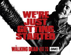 """The Walking Dead  The show promises it's """"just getting started"""" in a new promo poster"""