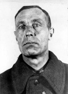 Aleksander Holstein, a Gestapo agent who worked in the Bydgoszcz area.