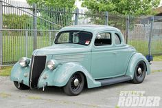 36 Ford coupe