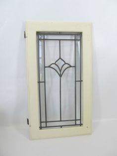 Antique 1910's Lead Glass Window Kitchen by PerfectlyPoshVintage, $60.00