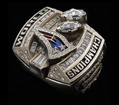Super Bowl XXXVIII Championship Ring, New England Patriots