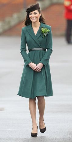 St Patrick's Day, 2011:  Catherine Elizabeth Middleton Mountbatten-Windsor, Her Royal Highness Princess William, Duchess of Cambridge, Countess of Strathearn, Baroness Carrickfergus