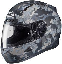 HJC Solid Men's CL-17 Void MC-5F Full Face Motorcycle Helmet