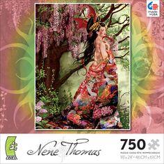 Nene Thomas Silk 750 Piece Puzzle  Price $10.50