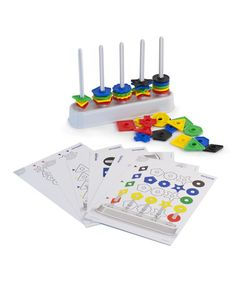 This Abacolor 100-Piece Shape Set is perfect! #zulilyfinds
