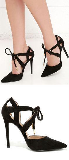 Lace-Up Heels ❤︎ L.O.V.E.