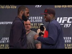 UFC (Ultimate Fighting Championship): UFC 197: Media Day Faceoffs
