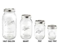 Amazing prices on Canning Jars when bought in bulk (12 case min at less than $2 per case)